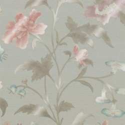 China Rose -French Grey Lustre