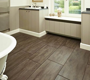 View different flooring available at Brocksons home